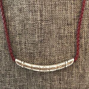 🎄⛄️Brighton leather neckclase